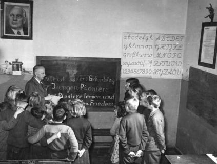 German school in 1950s