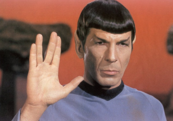 Leonard Nimoy as Spock