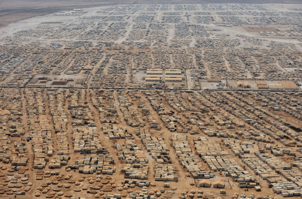 Syrian refugee camp in Jordan - NY Post