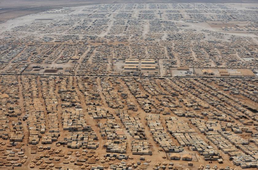 Syrian refugee camp in Jordan - NY Post