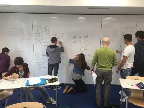 Maths in action!