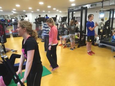 PE Fitness class
