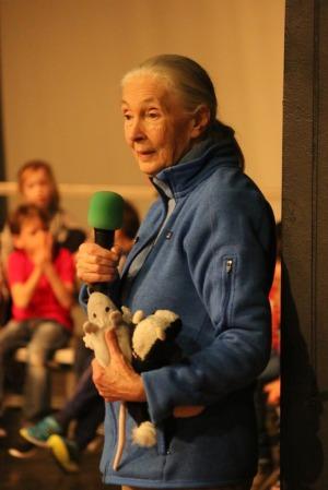 Jane Goodall at ISP